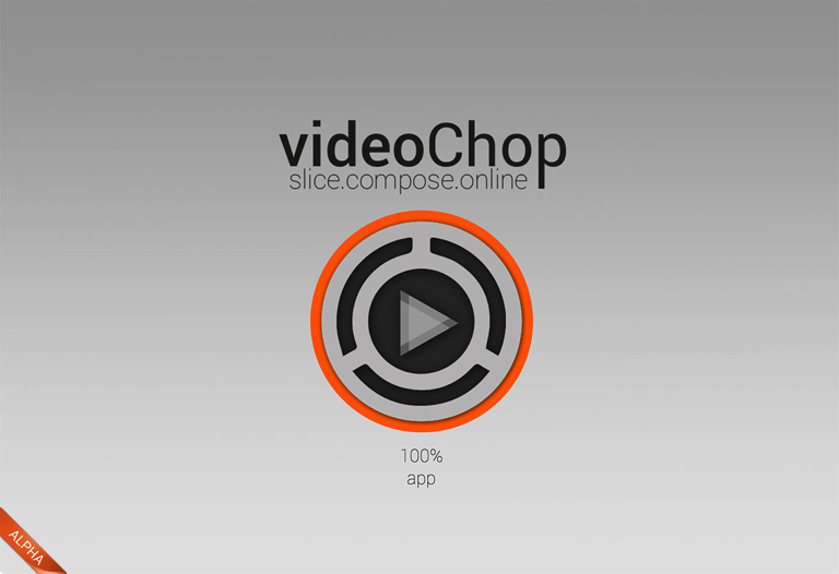 Screenshot of videochop.de
